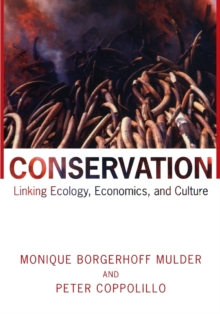 Image for Conservation  : linking ecology, economics, and culture