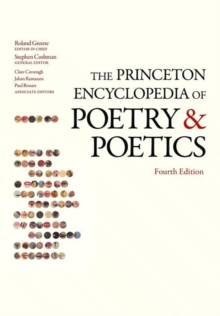 Image for The Princeton encyclopedia of poetry and poetics
