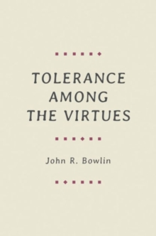 Image for Tolerance among the virtues