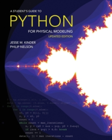 Image for A student's guide to Python for physical modeling