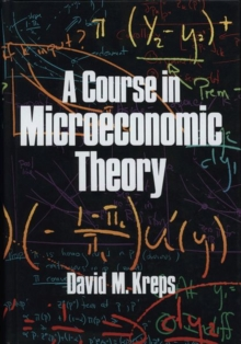 Image for A Course in Microeconomic Theory