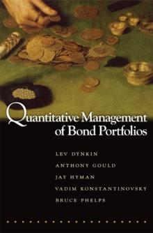 Image for Quantitative Management of Bond Portfolios