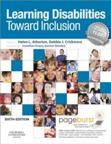 Image for Learning disabilities: towards inclusion.