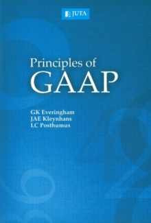 Image for Principles of GAAP