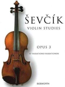 Image for Violin Studies - 40 Variations Op.3
