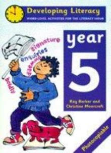 Image for Developing literacy: Year 5