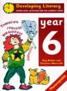 Image for Developing literacy: Year 6