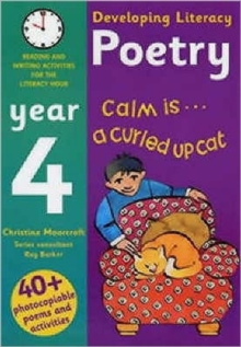 Image for Poetry year 4  : reading and writing activities for the literacy hour
