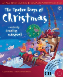 Image for The twelve days of Christmas  : a dastardly dazzling musical