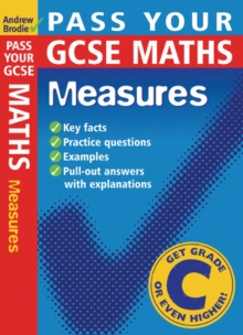 Image for Pass your GCSE maths: Measures