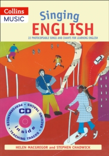 Image for Singing English  : 22 photocopiable songs and chants for learning English