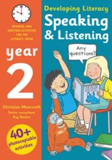 Image for Speaking & listening  : photocopiable activities for the literacy hour: Year 2