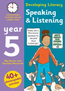 Image for Speaking & listening  : photocopiable activities for the literacy hour: Year 5