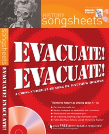 Image for Evacuate, evacuate! : A Cross-Curricular Song by Matthew Holmes