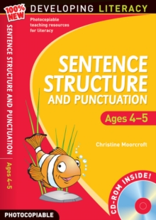 Image for Sentence structure and punctuation: Ages 4-5