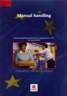 Image for Manual handling  : Manual Handling Operations Regulations 1992 (as amended)
