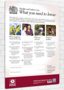 Image for Health and safety law : what you should know foldable pocket cards (pack of 25)