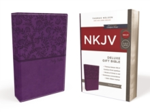 Image for NKJV, Deluxe Gift Bible, Leathersoft, Purple, Red Letter Edition, Comfort Print : Holy Bible, New King James Version