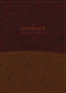 Image for The NKJV, Woman's Study Bible, Leathersoft, Brown/Burgundy, Full-Color, Red Letter, Thumb Indexed : Receiving God's Truth for Balance, Hope, and Transformation