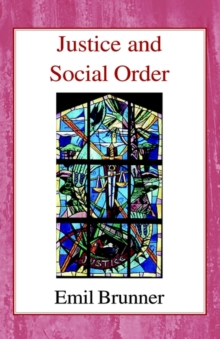 Image for Justice and Social Order