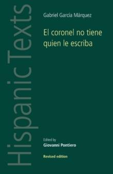 Image for El Coronel No Tiene Quien Le Escriba