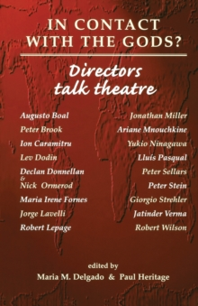 Image for In contact with the Gods?  : directors talk theatre