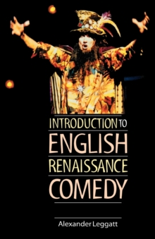 Image for Introduction to English Renaissance comedy