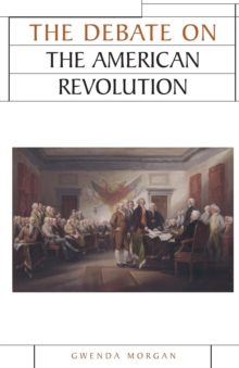 Image for The debate on the American Revolution