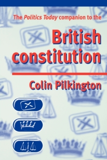 Image for The politics today companion to the British constitution