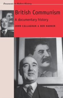 Image for British Communism : A Documentary History