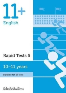 Image for 11+ English Rapid Tests Book 5: Year 6, Ages 10-11