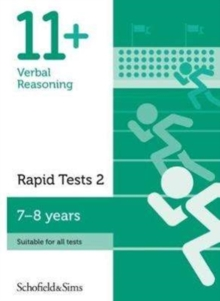 Image for 11+ Verbal Reasoning Rapid Tests Book 2: Year 3, Ages 7-8