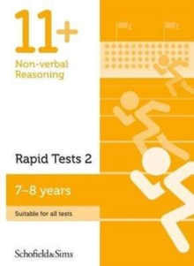 Image for 11+ Non-verbal Reasoning Rapid Tests Book 2: Year 3, Ages 7-8