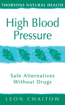 Image for High blood pressure  : safe alternatives without drugs