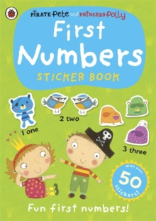 Image for First Numbers: A Pirate Pete and Princess Polly sticker activity book