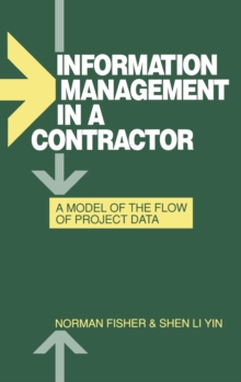 Image for Information Management in a Contractor - A Model for the Flow of Data
