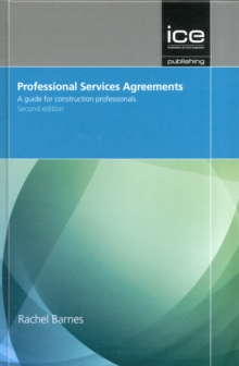 Image for Professional services agreements  : a guide for construction professionals