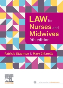 Image for Law for nurses and midwives