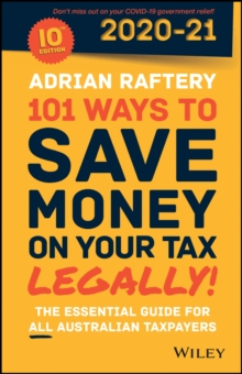 Image for 101 Ways to Save Money on Your Tax - Legally! 2020 - 2021
