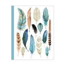 Image for Feathers Deluxe Spiral Notebook