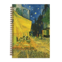"""Image for Van Gogh Terrace at Night 7 x 10"""" Wire-O Journal"""