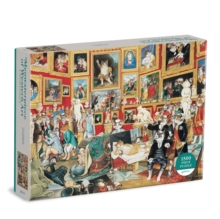Image for Tribuna of the Uffizi Meowsterpiece of Western Art 1500 Piece Puzzle
