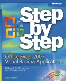 Image for Microsoft Office Excel 2007 Visual Basic for applications step by step
