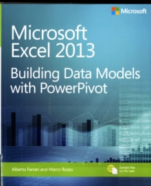 Image for Microsoft Excel 2013  : building data models with PowerPivot