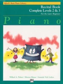 Image for ALFREDS BASIC PIANO RECITAL BK COMP 23