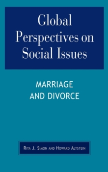 Image for Global Perspectives on Social Issues: Marriage and Divorce