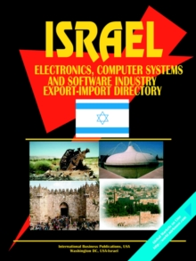 Image for Israel Electronics Computer Systems and Software Industry Export-Import Directory