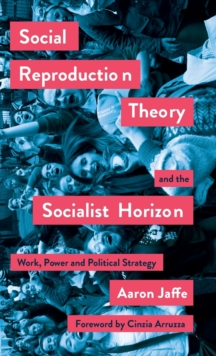 Image for Social Reproduction Theory and the Socialist Horizon : Work, Power and Political Strategy