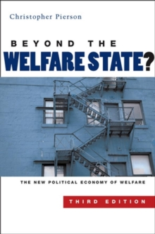 Image for Beyond the welfare state?  : the new political economy of welfare