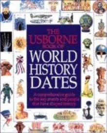 Image for The Usborne book of world history dates